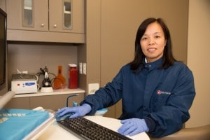 Suna Wang, Dental Assistant