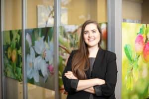 Emma E. Larson, Marketing and Communications Specialist